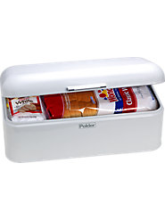 Enamel Bread Box Keeps Foods Fresh and Kitchen Tidy