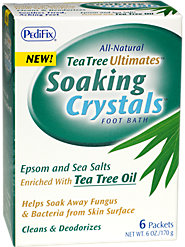 All-Natural Tea Tree Oil Foot Soak Helps Eliminate Foot Fungus and Bacteria and Rejuvenates Feet