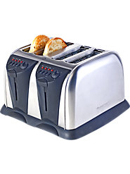 West Bend 2-Slice and 4-Slice Toasters, Renowned for Both Form and Function Since 1913