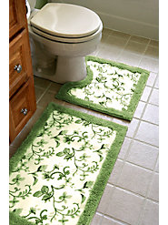 Beautify Your Bathroom in an Instant with These Durable Floral Rugs