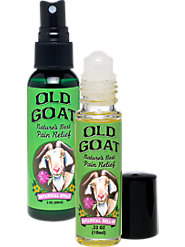 "For All Those ""Old Goats"" Out There - 100% Natural, Organic Pain Relief"