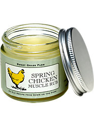 Feel like a Spring Chicken Again! Massage This All-Natural Hot/Cold Rub into Sore Muscles