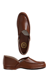 L.B. Evans Chicopee Leather Slippers