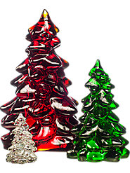 You'll be proud to pass down this heirloom quality decorative Mosser glass tree and it's still made in the USA