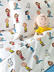 Good Ol' Charlie Brown and the Whole Peanuts Gang: Cotton Flannel Sheets for All Ages