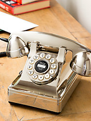 Replica Vintage Desk Phone Marries Today's Electronics with Yesteryear's Design