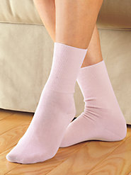No-Elastic Cotton Ankle Socks by Buster Brown—Trusted Name in Footwear