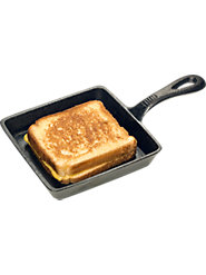 Cast Iron Sandwich Pan