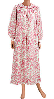 Toile Flannel Nightgown
