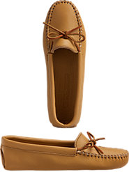 Women's Deerskin Leather Moccasins