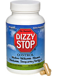 All-natural and non-drowsy herbal formula to relieve motion sickness, nausea, and dizziness