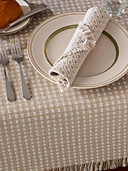 Mountain Weave Cotton Tablecloths: A Vermont Tradition of Quality and Style