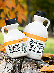 Our 100% Pure Vermont Maple Syrup Is a Mealtime Favorite