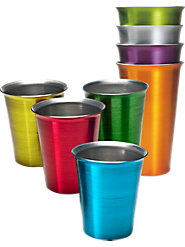 Jewel-Tone Aluminum Tumblers Keep Drinks Refreshingly Cold