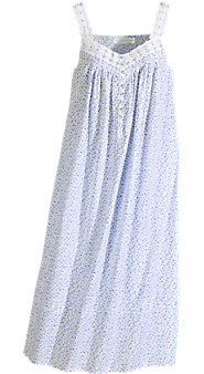 Womens Eileen West Lavender Field Cotton Nightgown