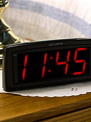 Set and Forget Alarm Clock
