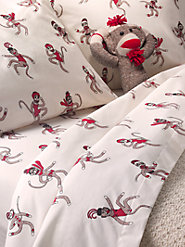 Crisp 100% Cotton Percale Sheets, as Fun as a Barrel of Monkeys