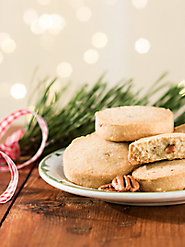 Delectable Shortbread Cookies—Vermont Maple Pecan and English Toffee Pecan