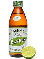 Real Bay Leaves Invigorate Dominica Bay Rum Aftershave, in Two Scents