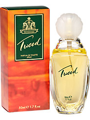Tweed Parfum, Talc, and Body Spray—An Exotic, Woody British Scent Dressed Up for the Ball