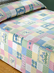 Plissé Patchwork Bedspread: The Charm of a Quilt Without the Heft