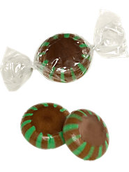 Chocolate Starlight Mints (2 lb. Bag)