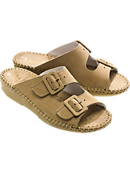 Leather Adjustable Comfort Sandal