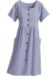 100% Cotton Seersucker Dress Keeps You Looking Fresh and Lively