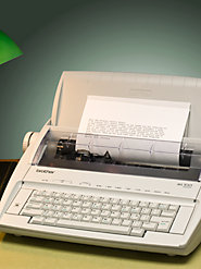 Simple and Reliable Brother Electronic Typewriter