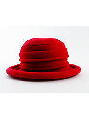 The Iconic Cloche Hat, Now with the Insulating Properties of Wool