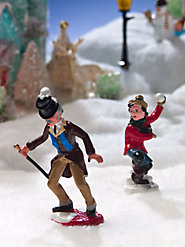 Snowball Victim (Set of 2 Figurines)