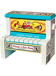 Fisher-Price Change-a-Tune Piano Is as Much Fun to Listen to as It Is to Play