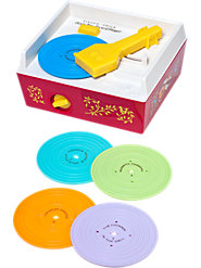 Fisher-Price Record Player: Authentic Reproduction Plays Classic Children's Melodies Just Like the Original