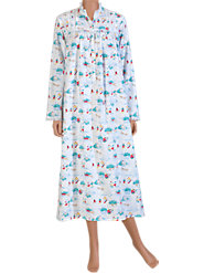 Lanz of Salzburg Flannel nightgown