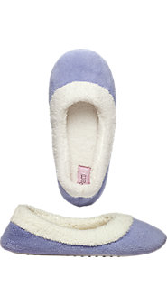 Soft Sherpa Fleece Ballet Slippers