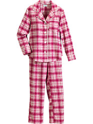 Women's Flannel Pajamas by Leisure Life