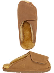 Men's Australian Sheepskin Adjustable Slippers