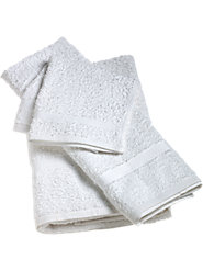Scratchy Hotel Towels