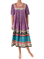 Abstract Print Muumuu