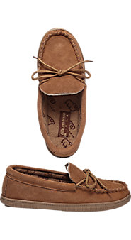 For Both Men and Women, the Classic Terry-Lined Moccasin Keeps Feet Dry and Fresh