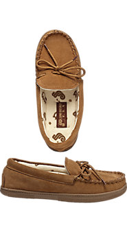 Women's Classic Terry-Lined Moccasin