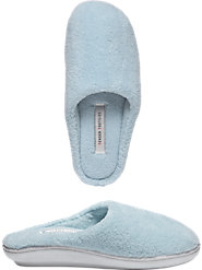 Women's Terry Cloth Snuggle Slipper Clogs Provide Supersoft Support for Tired Feet