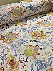 Tiger Lily Floral Bedspread Will Be the Centerpiece of Your Bedroom