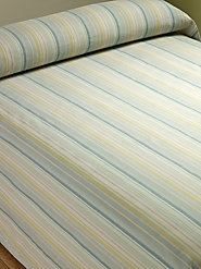 Seaside Stripe Cotton Bedspread Captures the Essence of Summer