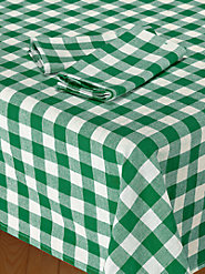 Heavy-Duty Tavern Check Napkins for Use Indoors or Out