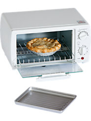 Uncomplicated, Compact Toaster Oven Gives Years of Service