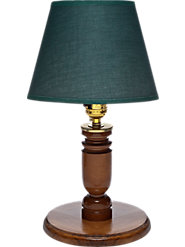 Wooden Accent Lamp