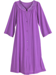 Shadowline Waltz-Length Long-Sleeve Robe