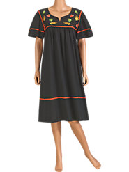 Celebrate That Warm, Sunny Fall Day in Our Cotton Autumn Muumuu