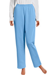 Women's Double-Brushed Sweatpants with Nonbinding Cuffs